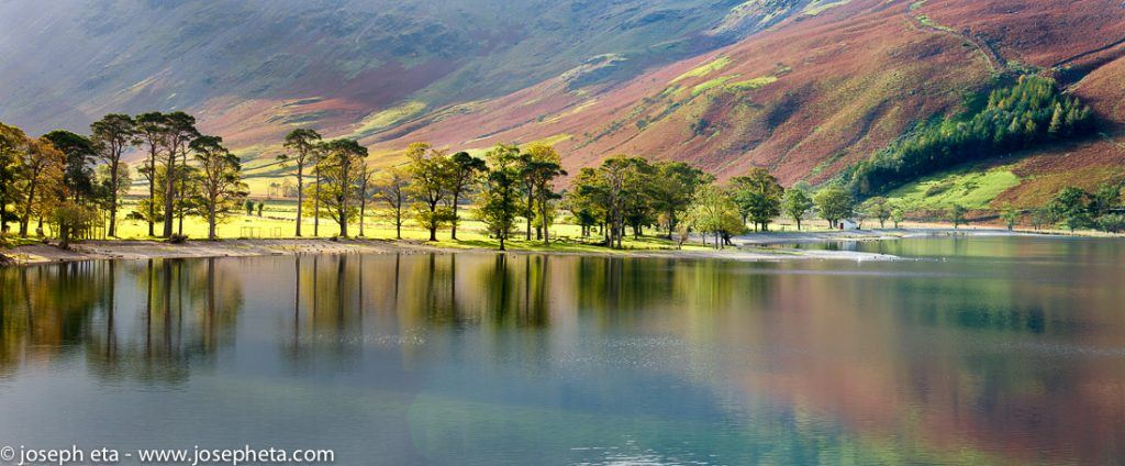 lake Buttermere in the Lake District in the UK
