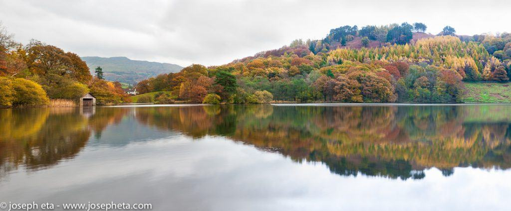 Lake Grassmere in the Lake District in the UK