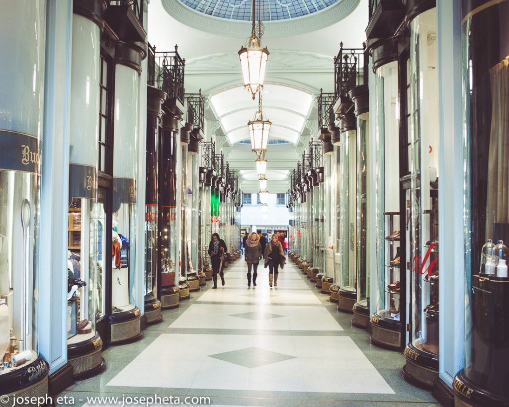 Piccadilly Arcade in London