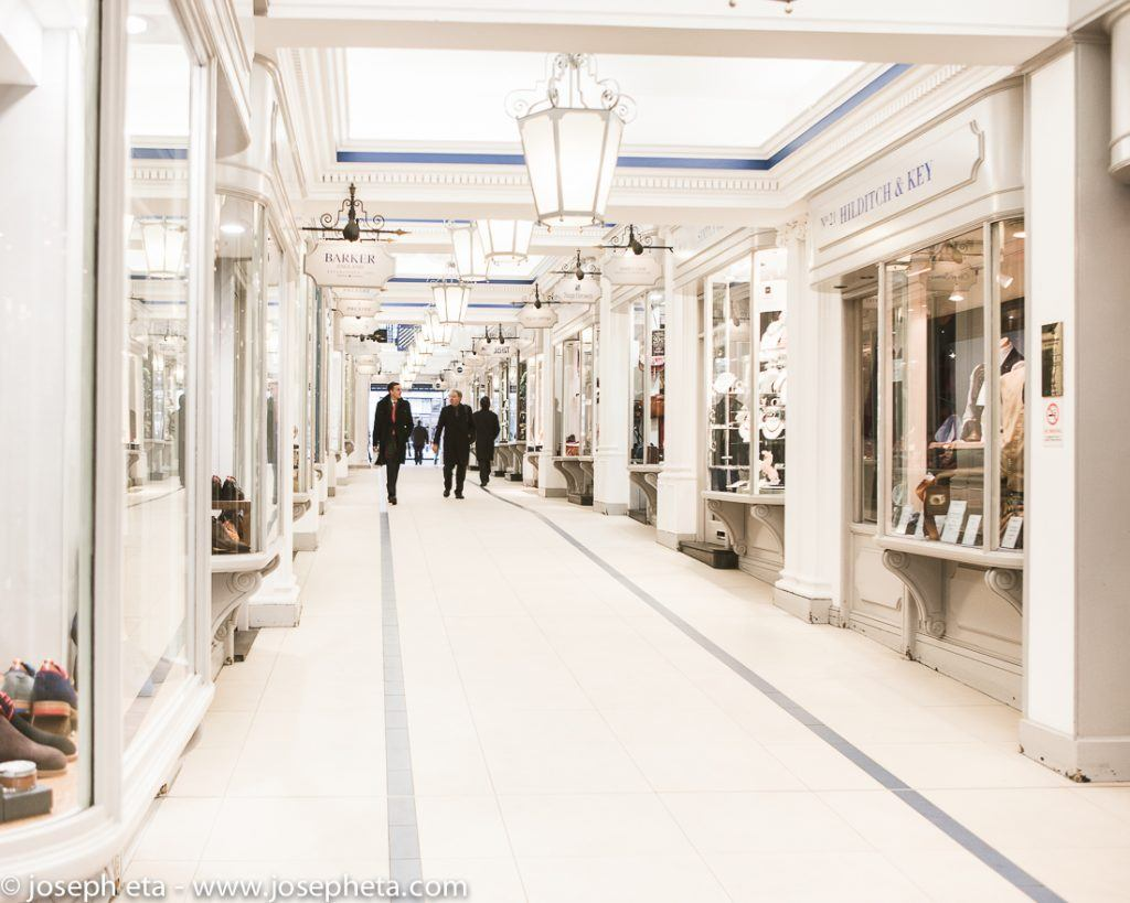 The Prince's Arcade near Picadilly in London