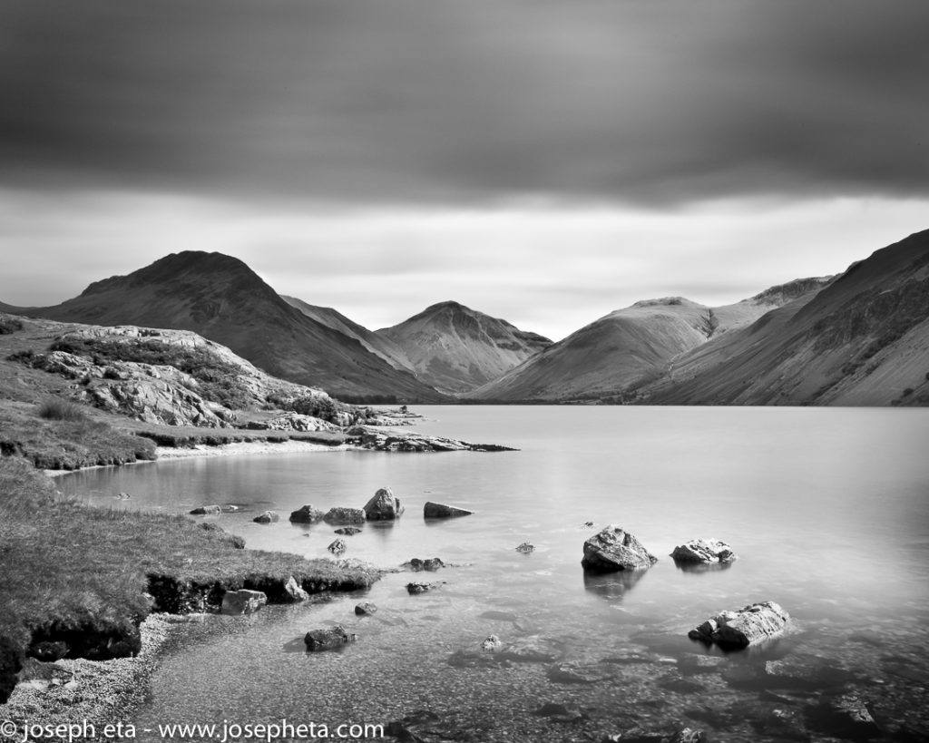Wast water lake in the Lake District in the UK