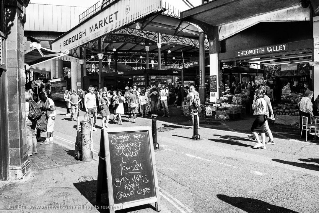 Entrace to London Borough Market