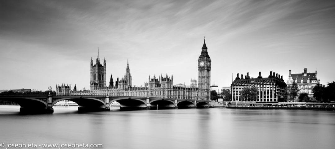 A photograph of house of parliament in London