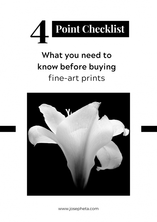 4-Point Checklist for Choosing the Best Quality Art Prints